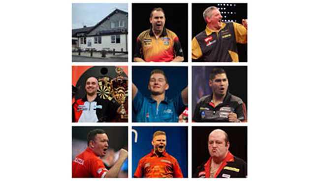 darts line up today
